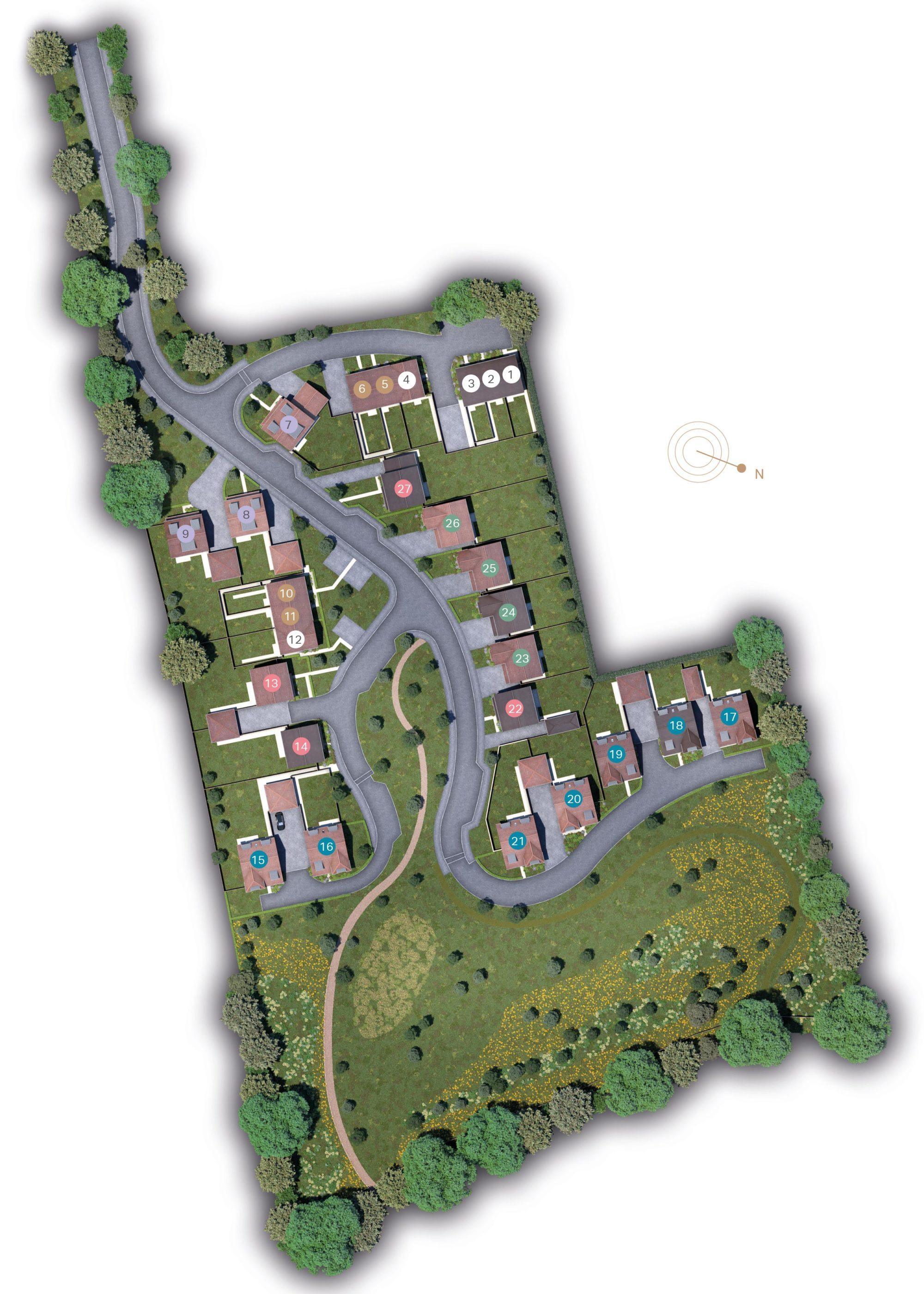 Plot Five site plan