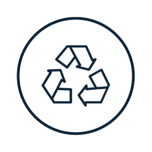Recycle 100% of our build waste