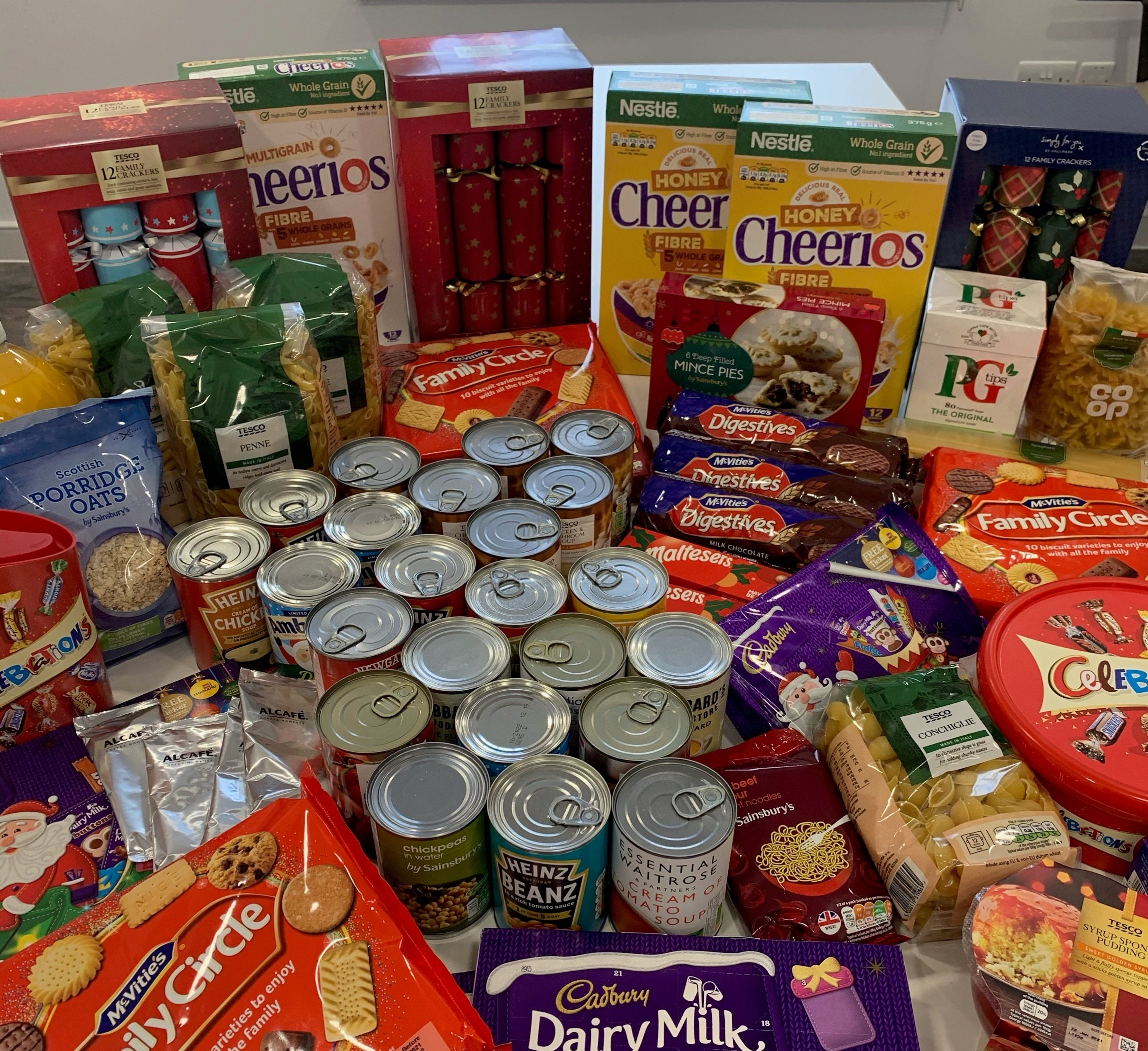 Christmas Foodbank Donations