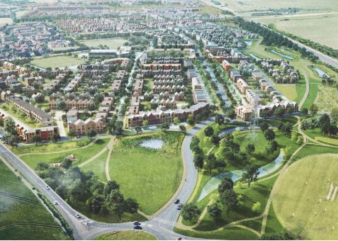 Stonebond to build 202 new homes at Linmere in Houghton Regis